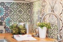 Azulejos e Ladrilhos Hidráulicos / Tile and tile Floors / Azulejos e ladrilhos hidráulicos que são pura inspiração!