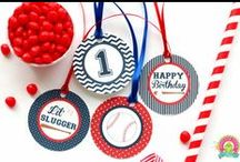 Baseball Party | THEME | SPORTS / by Forever Your Prints
