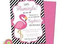 Flamingo Pary | THEME / by Forever Your Prints