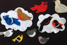 Felt Board Fun / Check out the awesome Felt Boards that our Children's Library Director JoAnn Kitchel has created!