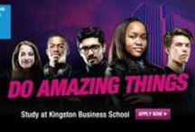 Undergraduate advertising campaign / Advertising study at Kingston Business School