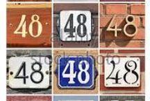 # Numbers  # / # Numbers