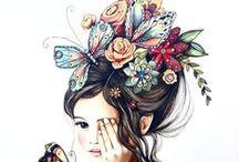 Flores y arte / El mundo del arte siempre ha mirado muy de cerca a las flores. Descubre expresiones artísticas de todo tipo con motivos muy florales.