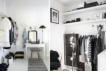 Minimalist Interior / All about Scandinavian Interior (living room, bedroom, workspaces, etc). I pinned what I like. Black and white obsession. Enjoy!