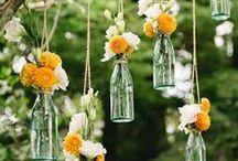 Decoración con flores / Las flores son el elemento perfecto para decorar tu hogar, tu jardín, tu lugar de trabajo... ¡y tu vida!