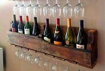 DIY | Wein-Phantasien / Weinregale, Weinaccessoires und Selbstgebasteltes findest du hier. Lass dich von den Bastelideen inspirieren.