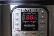 Instant Pot / A collection of everything pressure cooker and Instant Pot: Instant pot recipes, cooking times, pressure cooker ideas, suggestions, tips and tricks