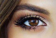 For brown eyed girls / Eye makeup looks that will make brown eyes pop