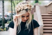 Messy Hair / Easy and brilliant hair styles for girls who are lazy like myself :)