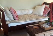 Sleigh Bed Sofa Slipcovers