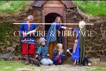 Culture & Heritage / Modern day Icelanders have a great deal of pride in their Viking history and heritage. Here you can find a bit about the Icelandic heritage