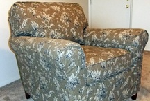 Jackie's Armchair Slipcover