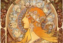 Artist Alphonse Mucha