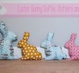 Easter Crafts & Sewing Project Ideas / It's all about easter bunnies and spring chickens. Things to make and sew over the easter holidays.