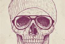 Skulls / by Society6
