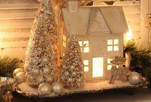 Kerst deco / Kerstdecoratie stukken en inspiratie plaatjes