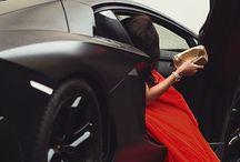 Girls & cars! / High class!