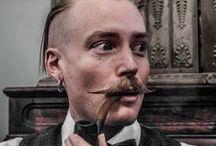 Barber shops & cool barbers / Keep your beard cool.