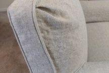 Linda's Linen Chair Slipcovers