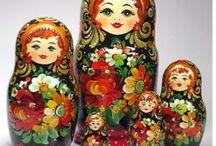 Russian Matryoshka Dolls / by Frankie Peterson