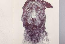 I like dog art and i cannot lie