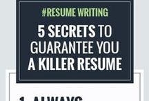 Resume | Application Letter | Cover Letter Tips / Different tips about building your kick ass resume, application letter and cover letter for a higher chance of employment.