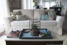 Lonnie's Canvas Sofa Slipcover