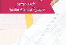 Digital Sewing Patterns, Pattern Drafting & Adjusting/Fitting / Sewing patterns to download, hints and tips for pattern drafting. And fitting techniques and tips for adjusting sewing patterns.