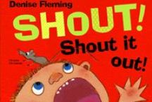 SHOUT! Shout it out! / Activities and information related to SHOUT!, about making learning fun, and the importance of physical activity in learning.