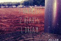 Barrel Racing / Barrel racing everything / by Jessica Statham