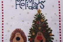 Miss Red Cross Stitch