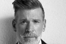 Men: Nick Wooster / Gay Male Fashion Icon  / by Rob Grace