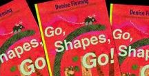Go, Shapes, Go! / Activities and information for Go, Shapes, GO! and other activities that focus on shapes and active verbs.