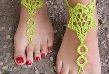 Flip Flops / Beach Sandals / by Betsy Gale