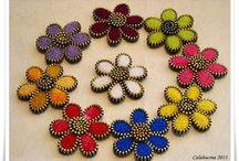 šperky ze zipů / zipy