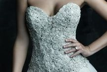 Wedding Dresses with Crystals / Bridal gowns devoured in bling