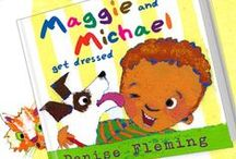Maggie and Michael / Maggie and Michael Get Dressed, published by Henry Holt & Company, will be available April 12, 2016. Activities and information related to Maggie and Michael Get Dressed and activities about clothes, colors, and daily routines.