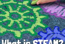 STEAM (STEM) Activities / Information on STEAM (Science Technology Engineering Art Math) and a variety of STEAM activities for young children—more STEAM activities are posted on my individual book boards. #STEM #STEAM