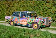 The Pakistani Truck Art Project / A 1966 Mercedes 200 becomes an Art Car
