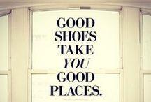 Kengistä sanottua / Totuudenmukaisia lausahduksia kengistä - lue ja inspiroidu!
