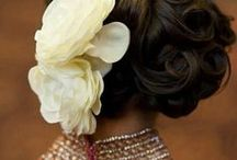 Wedding Hairstyles / Have a look on these lovely #WeddingHairstyles.  Choose one for your wedding.
