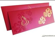 Wedding Invitations Cards / Invite your guests with elegant #WeddingCards #WeddingInvitations by #LotusCardStudio.  Shop online at https://www.lotuscardstudio.com/wedding-cards-online