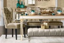 Dining Rooms / Open concept, traditional, and glamorous dining spaces