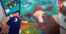 The Cow Who Clucked / See my Barnyard Banter board for barnyard activities.