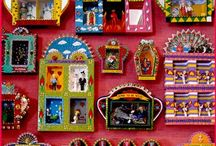 Folk Art / Folk art, cultural art, and art inspired by folk art. Especially art that uses strong, pure color