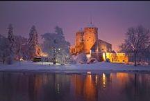 Linnat, Castles