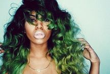 COLORS & CURLS / Curls colors and styles I want to have  / by Simone