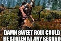 Skyrim / The Elder Scrolls V Skyrim. One of the best games ever!