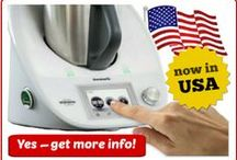 Thermomix USA / YES -- as of September 2015, you can now get Thermomix in USA! Click these pins for tips, recipes and info about the TM5 model from Germany, now engineered for USA :)