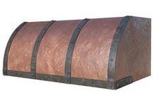 Barrel Custom Range Hoods / A collection of Barrel Range Hoods by Vogler Metalwork & Design